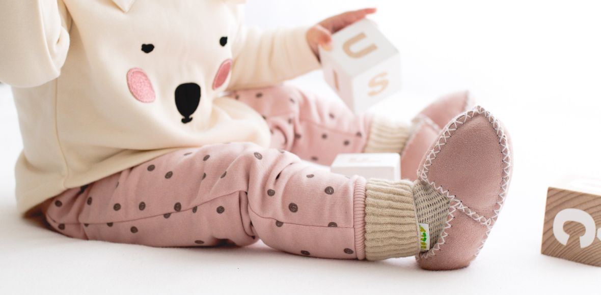 Rolly baby winter rolly slippers