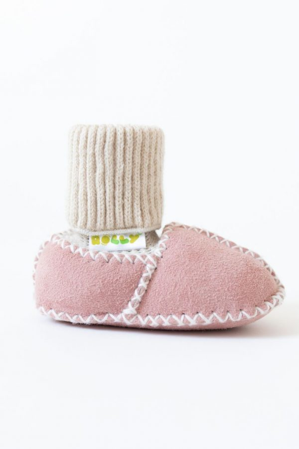 Rolly pink baby winter