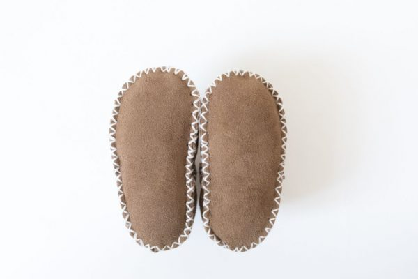 Rolly slippers boys brown baby winter