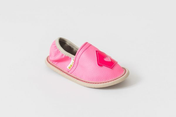 Rolly slippers for kindergarten pink toddler girl 2