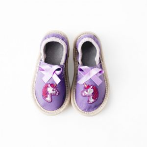 Rolly toddler unicorn slippers for kindergarten