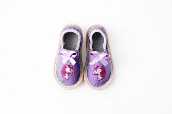 Rolly toddler unicorn slippers for kindergarten