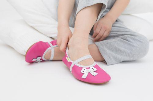 School slippers beauty pink girls