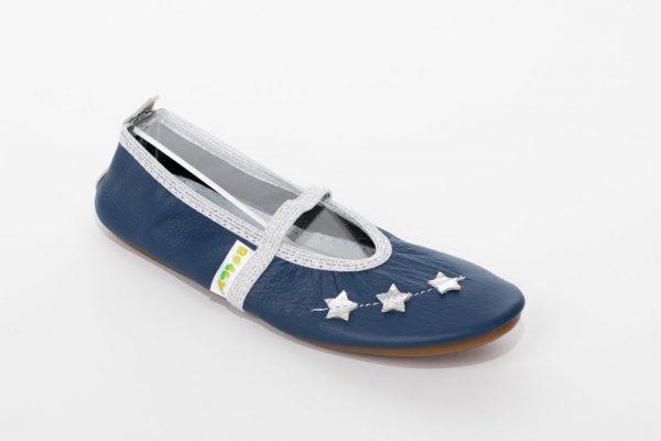 School slippers beauty stars girls