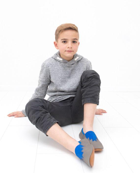 School slippers fun boy