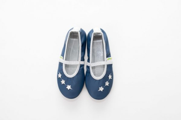 School slippers girls beauty stars