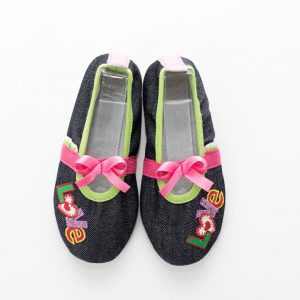 School slippers girls jeans love 2