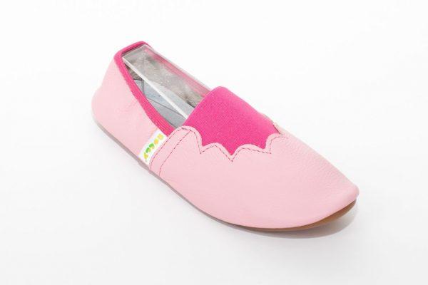 School slippers joy girls pink