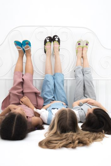School slippers rolly beauty girls