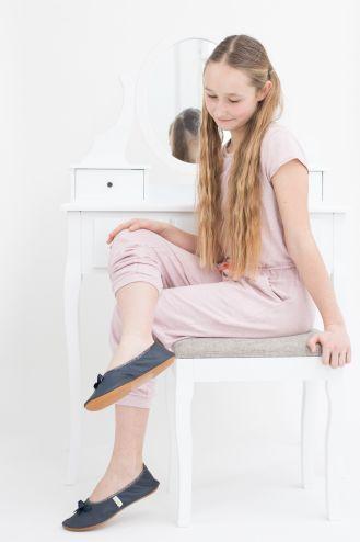 School slippers rolly teen for girls