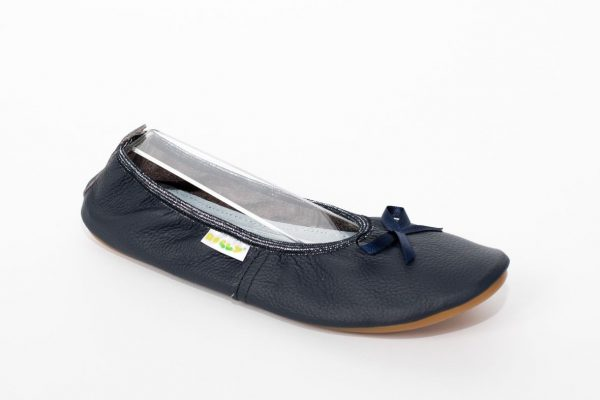 School slippers teen blue girls