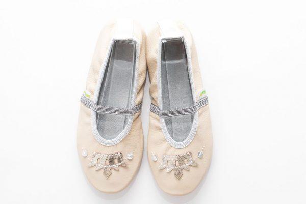 School slippers beauty crown girls 1