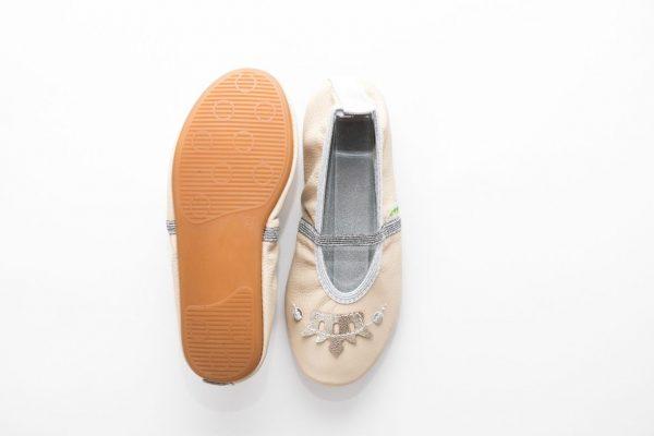 School slippers girls rolly beauty crown nonslip sole