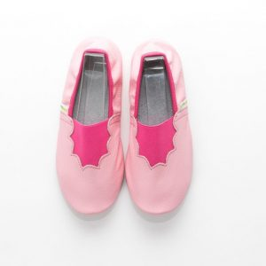 School slippers pink joy girls