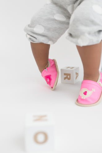Toddler rolly slippers kindergarten